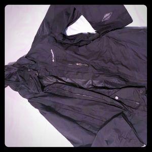 men's Columbia omni tech ski jacket, L